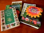 Assortment of Sunset Garden Books to Look At