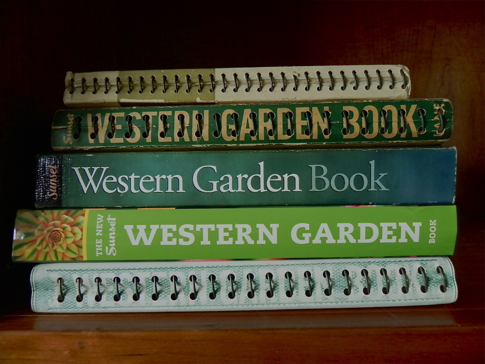 old - Western Garden Book